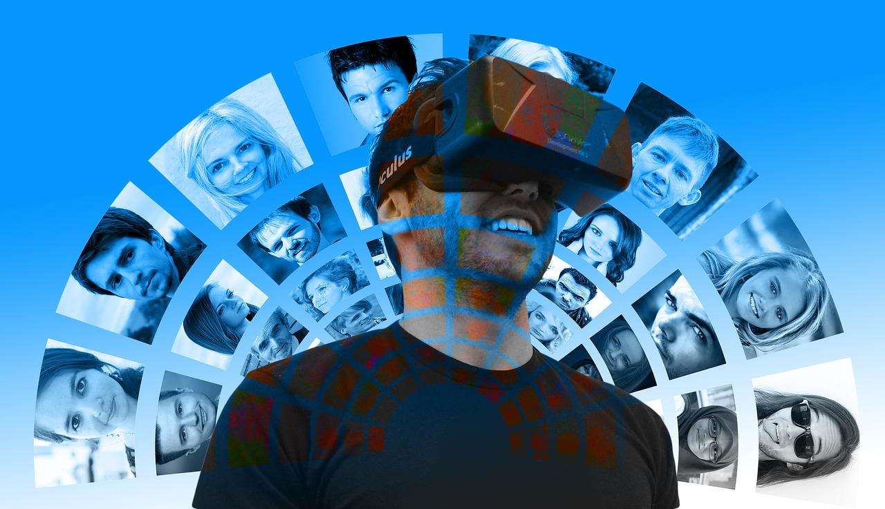 Le fonctionnement d'un casque de réalité virtuelle